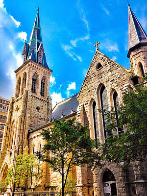 Photograph - St Michaels Church Baltimore by Robert Meyers-Lussier
