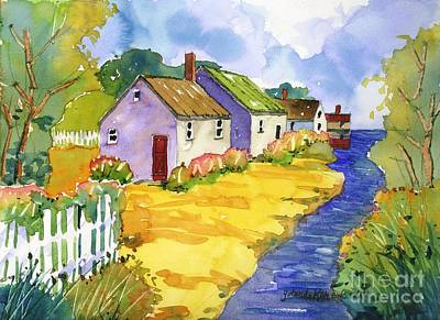 Painting - St Michael's Cottages by Yolanda Koh