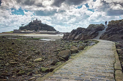 Photograph - St Michael's Mount  by Christopher Rees