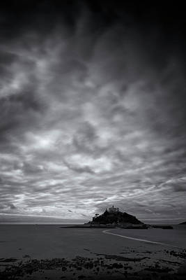 Photograph - St Michael's Mount by Dominique Dubied