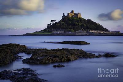 Photograph - St Michael's Mount Evening by Brian Jannsen