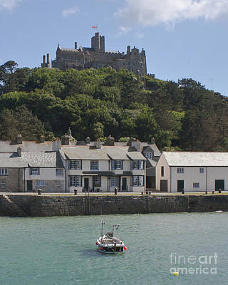 Photograph - St Michael's Mount From A Ferry Boat by Terri Waters