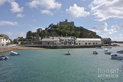 Photograph - St Michael's Mount From The Ferry Boat by Terri Waters