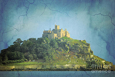 Photograph - St Michael's Mount Textured by Terri Waters