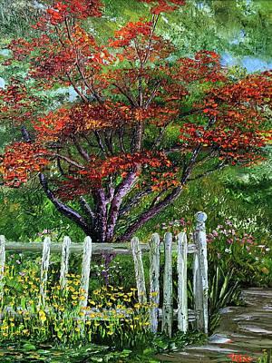 St. Michael's Tree Art Print