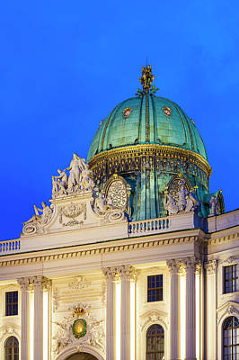 St. Michael's Wing Of Hofburg In Vienna Art Print