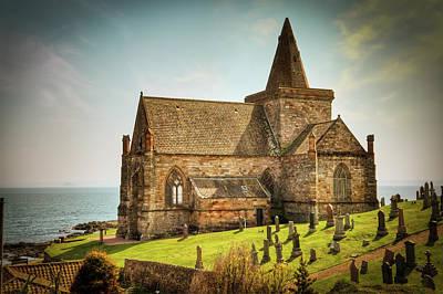 Photograph - St. Monan's Church by Ray Devlin