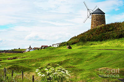 Photograph - St Monans Windmill by MaryJane Armstrong