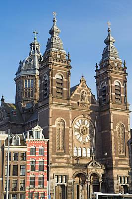 Kids Alphabet - St. Nicholas Basilica in Amsterdam  by Jaroslav Frank