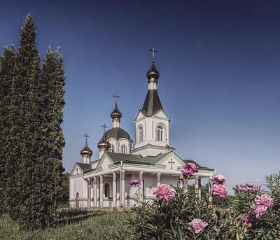 Photograph - St. Nicholas Church. Parafyivka, 2017. by Andriy Maykovskyi