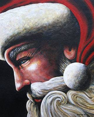St. Nick Art Print by Doug Norton