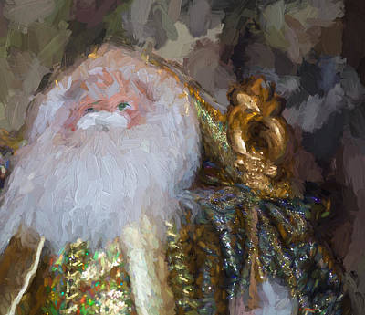 Painting - St. Nicolas by Cathy Jourdan