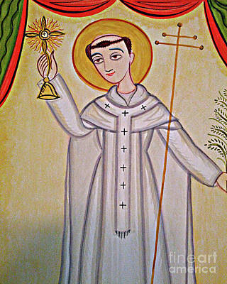 Painting - St. Norbert - Aonor by Br Arturo Olivas OFS