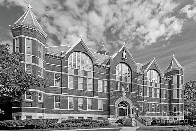 Architecture Photograph - St. Norbert College Main Hall by University Icons