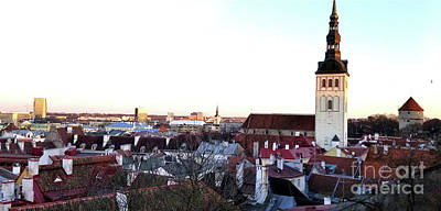 Photograph - St Olaf's Church - Tallinn  by Doc Braham