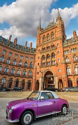 Photograph - St. Pancras Renaissance Hotel London by Adrian Evans