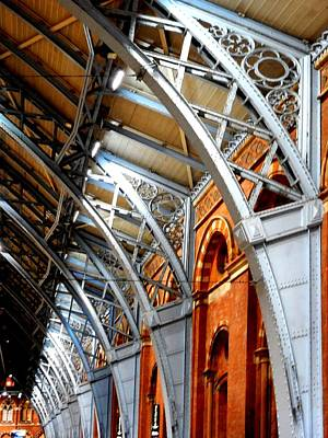 Photograph - St Pancras Roof by Dorothy Berry-Lound