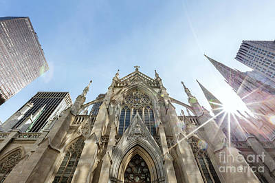 Photograph - St. Patrick Cathedral, Manhattan, New York, Usa by Matteo Colombo