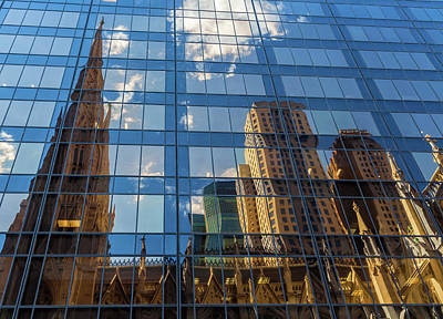 Photograph - St. Patrick Cathedral Reflections 1 by Jonathan Nguyen