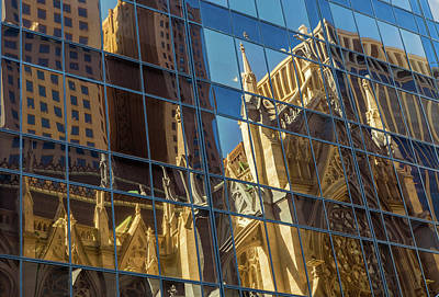 Photograph - St. Patrick Cathedral Reflections 2 by Jonathan Nguyen
