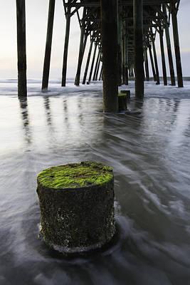 Myrtle Beach Ocean Photograph - St. Patrick Flow by Bill Cantey