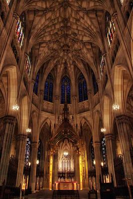 Photograph - St. Patrick's Altar by Jessica Jenney
