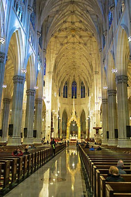 Photograph - St. Patricks Cathedral 101 - Nyc by Timothy Lowry