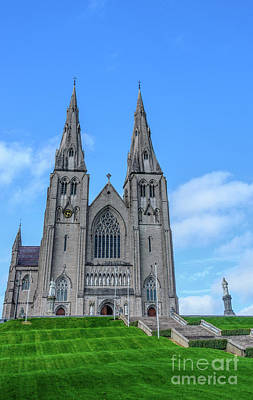Photograph - St Patrick's Cathedral Catholic, Armagh by Elvis Vaughn