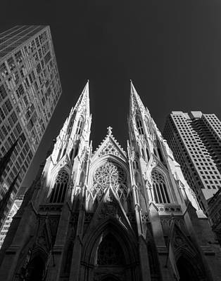 Photograph - St Patrick's Cathedral  by Dick Wood