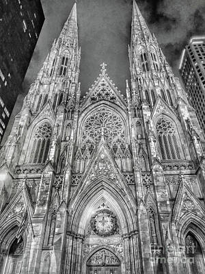 Photograph - St. Patricks Cathedral  by Eleanor Abramson
