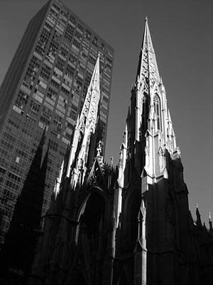 Photograph - St. Patrick's Cathedral by John Schneider
