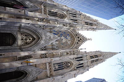 Design Wall Art - Photograph - St Patrick's Cathedral Nyc by Jeffson Chan