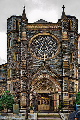 Photograph - St. Patrick's Church by Christopher Holmes