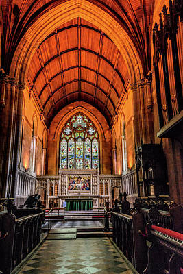 Photograph - St Patrick's Church Of Ireland, Armagh by Elvis Vaughn