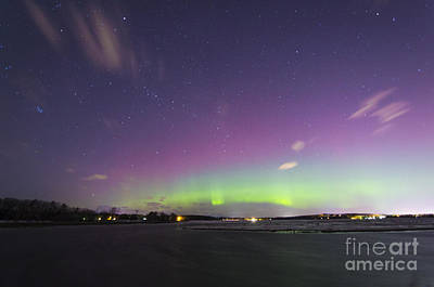 Photograph - St. Patrick's Day Aurora 2015 by Patrick M Fennell