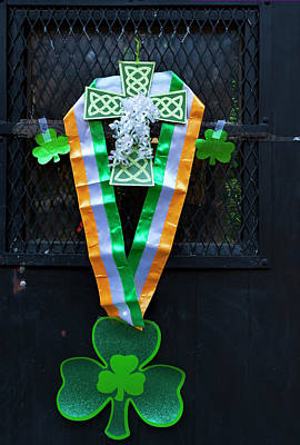 Photograph - St. Patrick's Day Decorations by Robert Ullmann