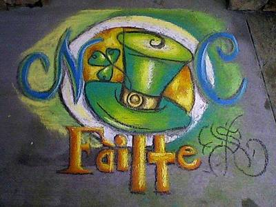 St Patrick's Day Ncohc Welcome Art Print by Scarlett Royal