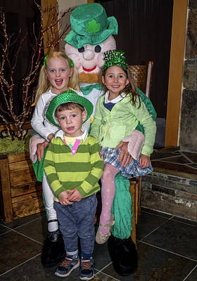 Photograph - St. Patricks Day Party 34 by Martin Gollery