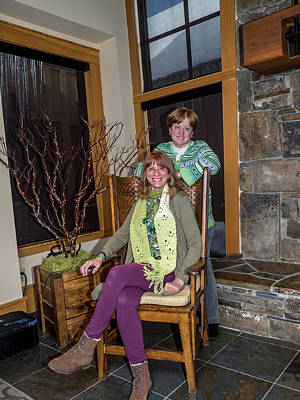 Photograph - St. Patricks Day Party 37 by Martin Gollery