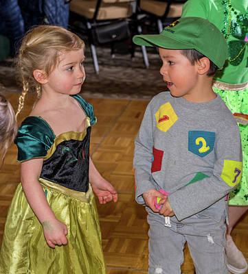Photograph - St. Patricks Day Party 41 by Martin Gollery