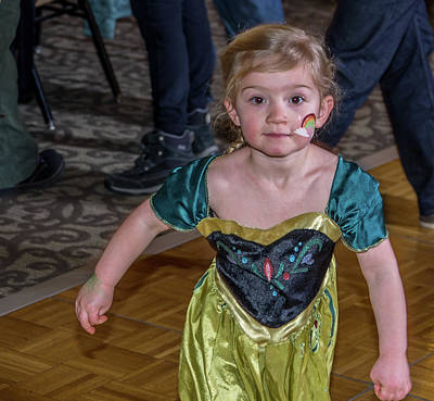 Photograph - St. Patricks Day Party 42 by Martin Gollery