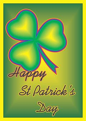 Digital Art - St. Patrick's Day by Sherril Porter