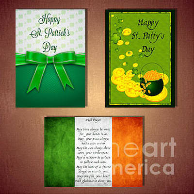 Digital Art - St. Patrick's by JH Designs