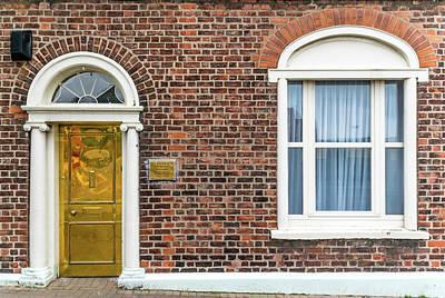 Door Photograph - St Patricks Presbytery by Steven Richman
