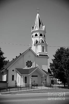 Photograph - St Patricks Roman Catholic Church by Elaine Mikkelstrup