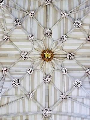 Photograph - St Pats Ceiling by Rob Hans