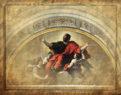 St Paul And The Angels Art Print