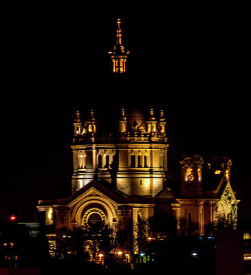 Stp Photograph - St Paul Cathederal by Nick Peters
