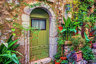 Photograph - St Paul De Vence France Dsc02364 by Greg Kluempers