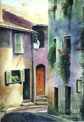 Painting - St. Paul De Vence by Madeleine Holzberg